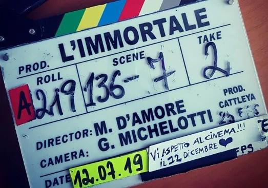 L'Immortale il film, fine riprese uscita il 12 dicembre, Marco D'Amore «Vi aspetto al cinema»