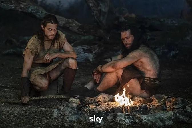 Romulus serie Sky: Andrea Arcangeli, Gabriel Montesi e il cast sul set di Matteo Rovere