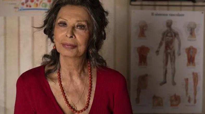"""Il figlio Edoardo Ponti dirige la madre Sophia Loren nel film """"La vita davanti a sé"""""""