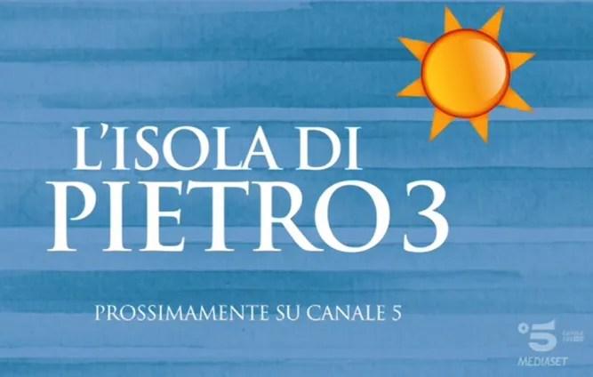 L'Isola di Pietro 3 Backstage con Gianni Morandi