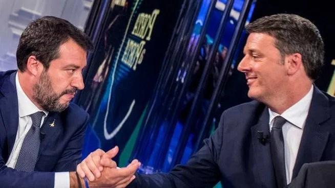 Ascolti TV | Social Auditel 15 ottobre 2019: Porta a Porta record con Renzi vs Salvini, raggiunti oltre 40.000 Tweet nel trending topic
