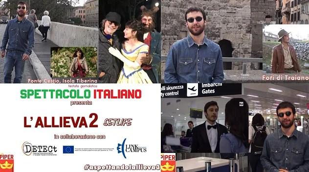 L'Allieva 2 sul set, documentario in collaborazione con Detect H2020 e la Link Campus University che lanciano il sondaggio sulla serie tv con Alessandra Mastronardi e Lino Guanciale aspettando l'Allieva 3