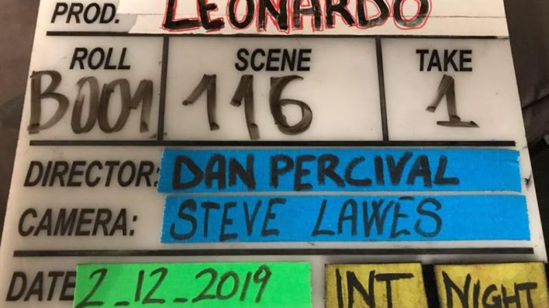 """Primo ciak per la serie tv """"Leonardo"""", nel cast italiano Matilda De Angelis e Giancarlo Giannini"""
