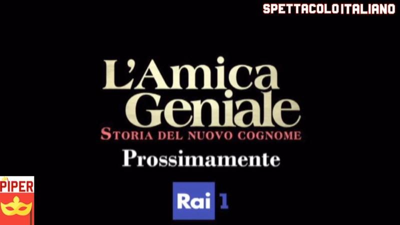 """L'Amica Geniale 2 backstage """"Storia del nuovo cognome"""""""