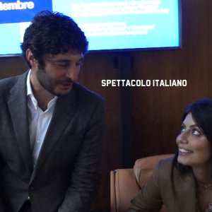 L'Allieva 3 Lino Guanciale e Alessandra Mastronardi intervista doppia, conferenza stampa VIDEO