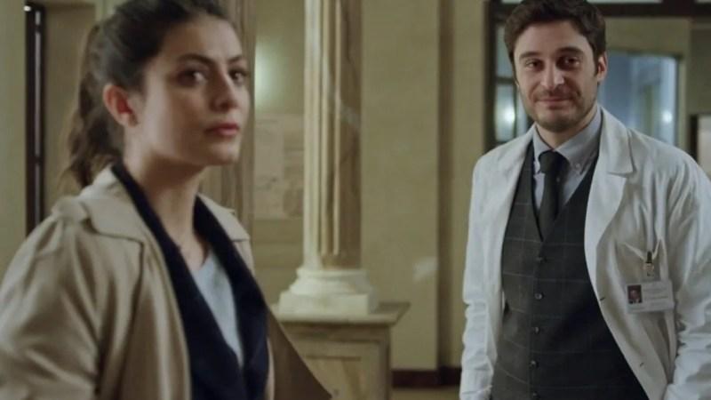 L'Allieva 3 anticipazioni terza puntata, Alice e Claudio ai ferri corti, ma poi si riavvicinano in un convegno fuori Roma