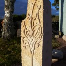 The finished carving
