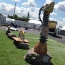 Loch Ness Monster sculpture Glasgow 2014 Commonwealth Games