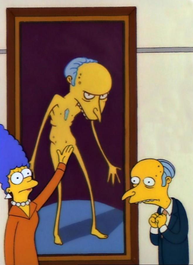 Un polémico retrato de Burns inaugura su sala en el Palacio de Bellas Artes