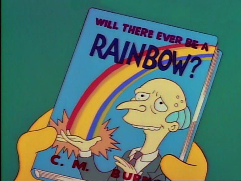 """C. M. Burns presenta su libro """"¿Habrá algún día un arcoíris?"""""""