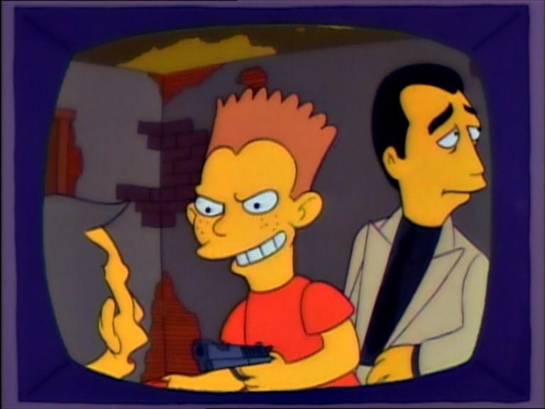 """""""La pizarra ensangrentada"""" contará los escarceos de Bart Simpson con la mafia"""