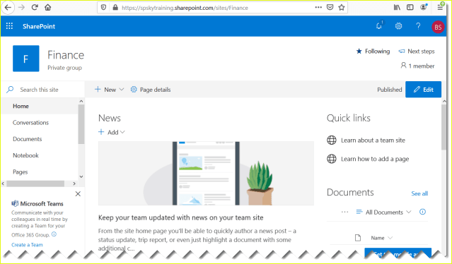 Create a site collection in SharePoint Online - SPGuides