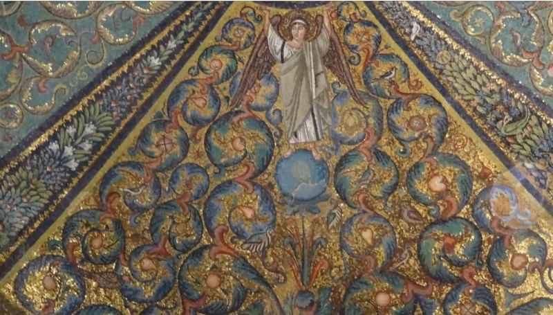 4 Angel On Blue Sphere