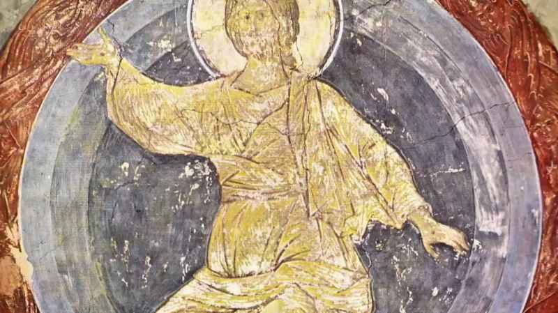 8 Ascension Image Jesus In White