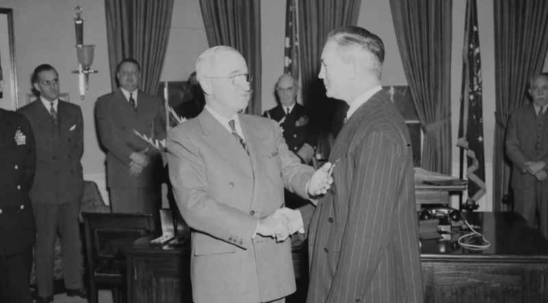 1 Forrestal With Truman