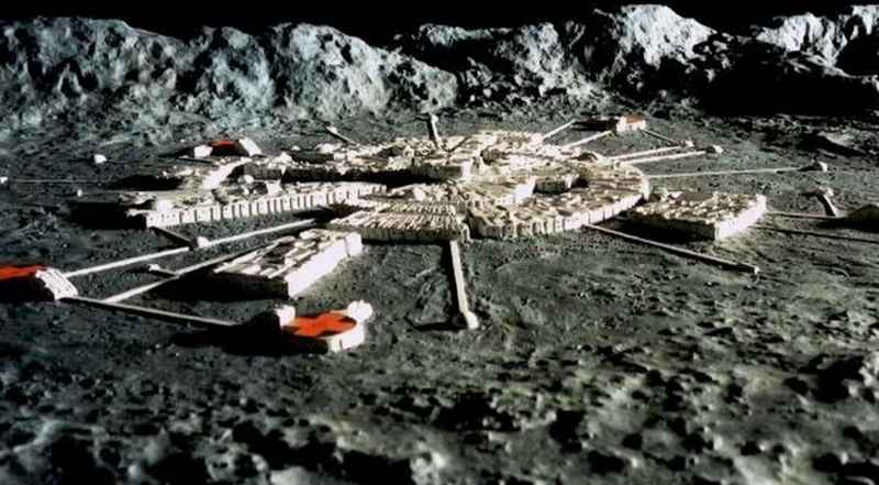 28 Research Center On Moon