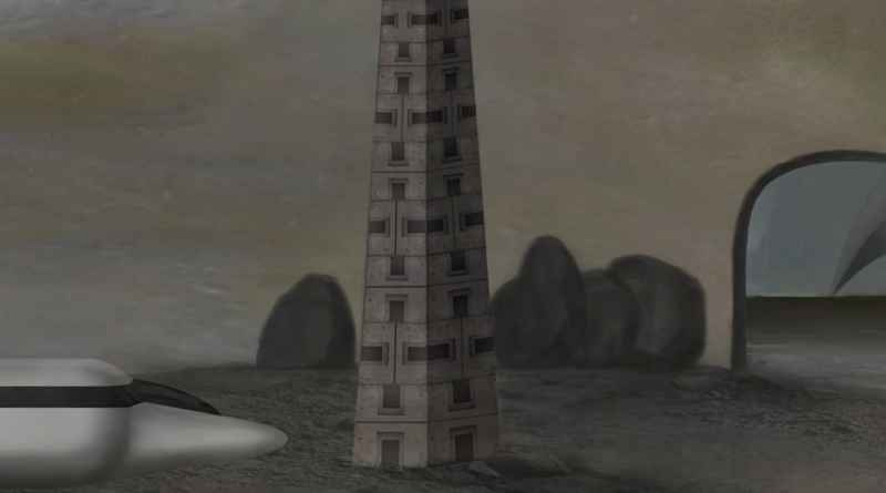8 Close Up Of Bus And Obelisk