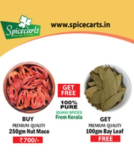 Buy 250gm Nut Mace Get Free 100gm Bay Leaf
