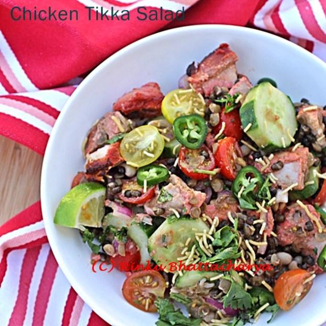 Chicken Tikka Salad