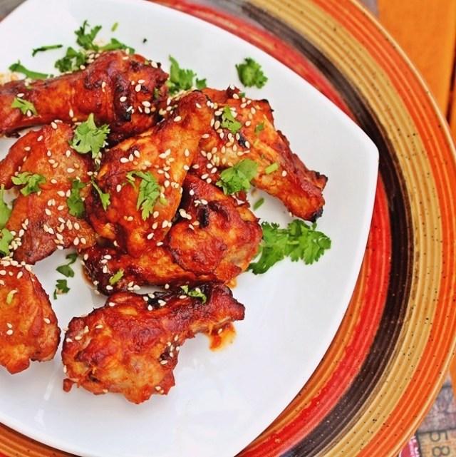 Sriracha Hoisin Chicken Wings