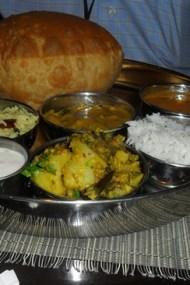 Gujarati Thali in Pongal