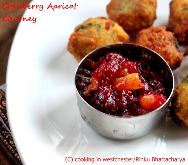 Cranberry and Apricot Chutney