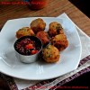 Parma Ham Fritters