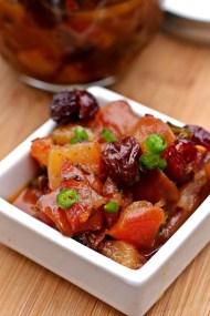 Pear Chutney with Raisins