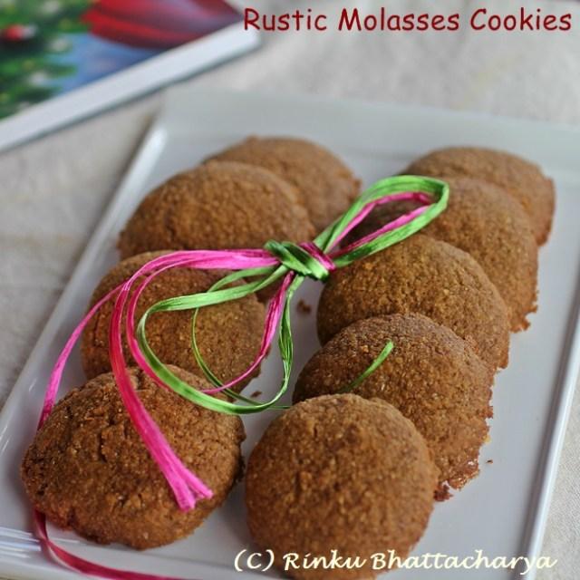 Rustic Molasses Cookies