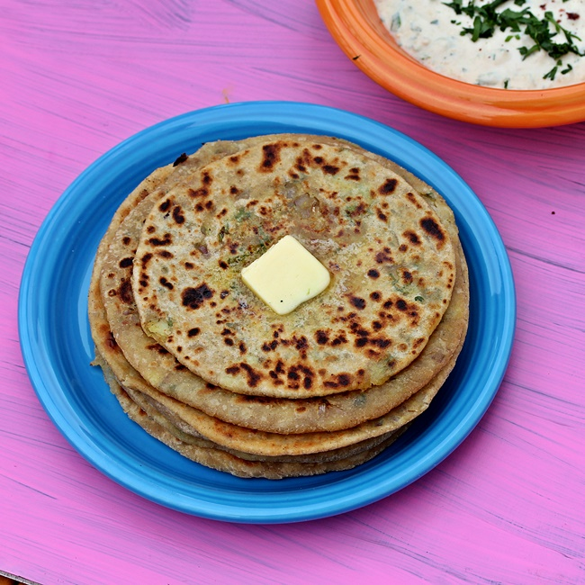 Alu Paratha_ North Indian Potato Stuffed Flatbreads