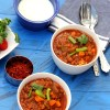 Tripple Herb Vegetarian Chili