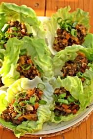 Crispy Lettuce Wraps