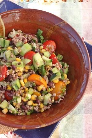 Summer Sorghum Salad