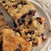 Sheet Pan Blueberry Muffin Squares