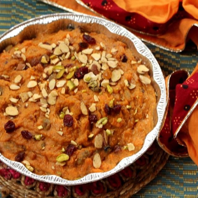 Instant Pot Sweet Potato Halwa