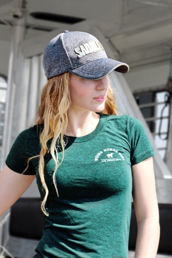 Weird-Horse-Girl-Patch-Tee-Saddle-Up-Hat