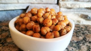 Crispy Chickpeas with Zaatar