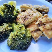Lemon Garlic Fennel and Sage Grilled Tofu