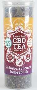 Elderberry Lemon cbd tea