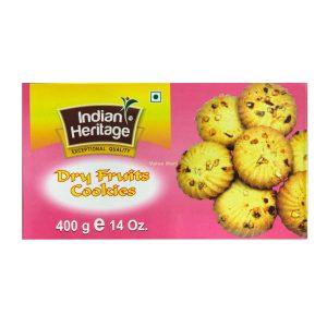 Indian Heritage dry fruit cookies 400g