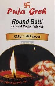 Puja Greh Round Batti