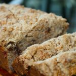 Brown Butter Chocolate Chip Banana Bread with Coconut Streusel