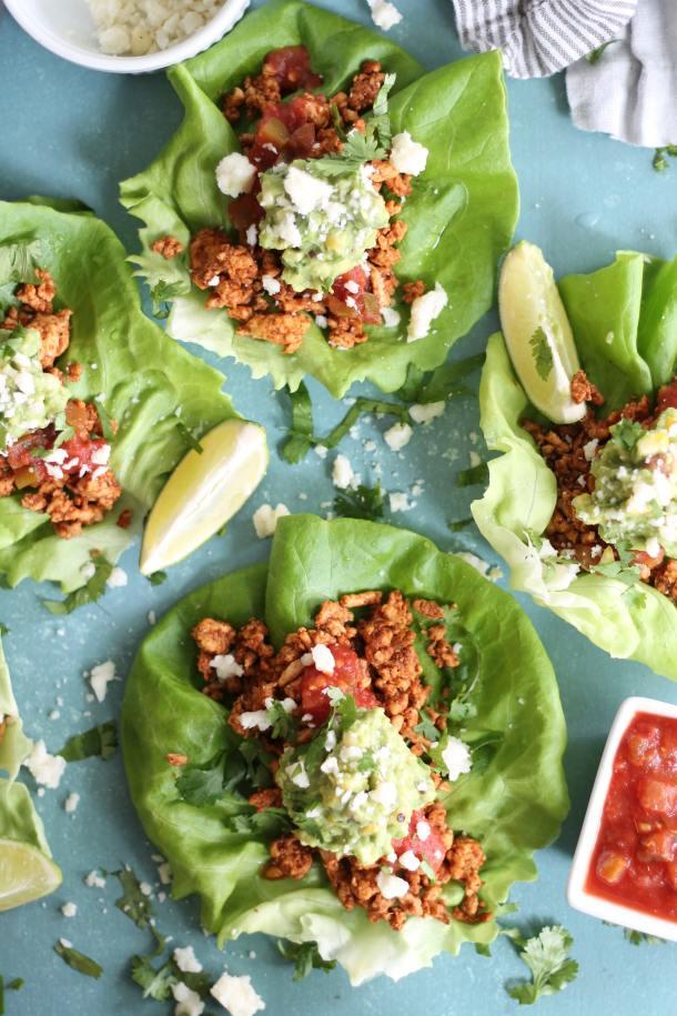 20 Minute Taco Lettuce Wraps