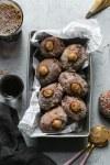 Dirty Chai Cream Filled Doughnuts