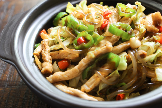 Tasty Stir-fried Glass Noodle