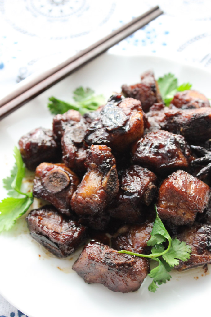Delicious Braised Pork Ribs – Spice the Plate