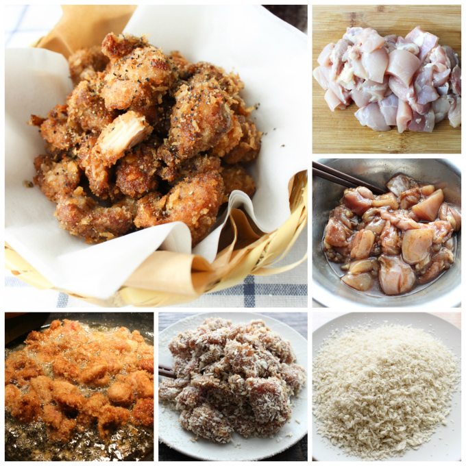 How to make Chinese chicken nuggets