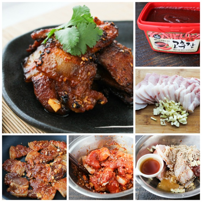 How to make korean style pan-fried pork belly