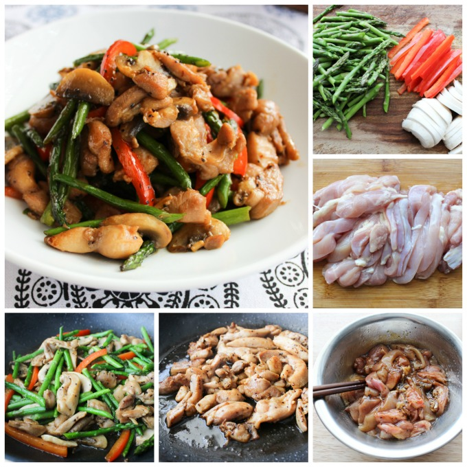 How to make Chicken with Asparagus