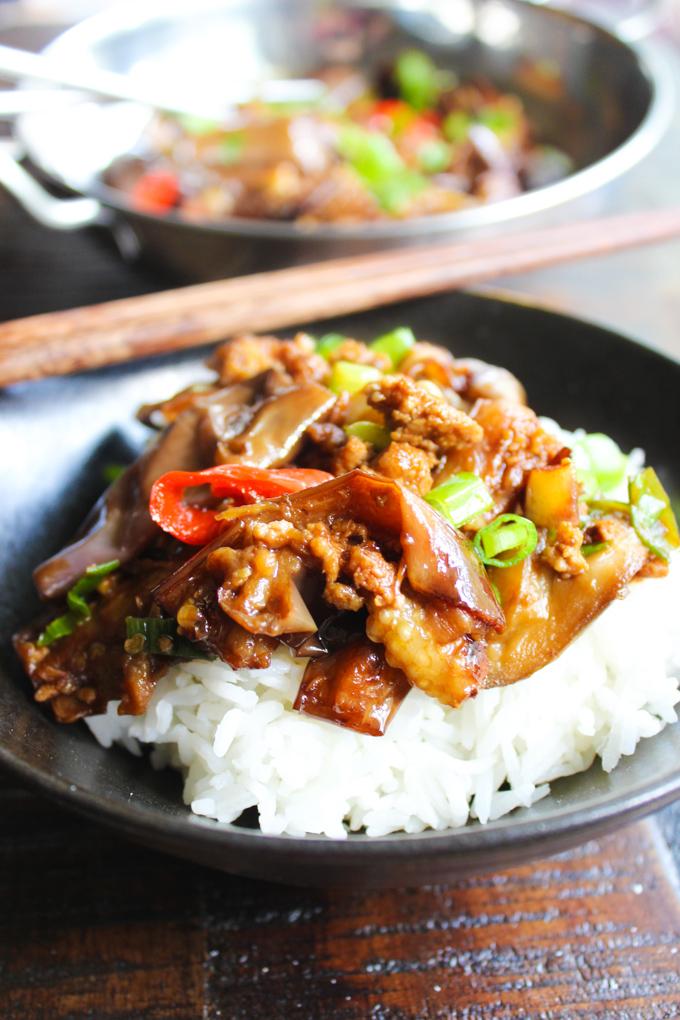 Eggplant Stir-fry recipe